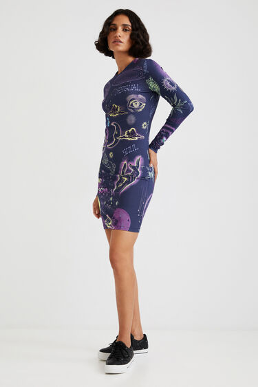 Slim dress astrology | Desigual