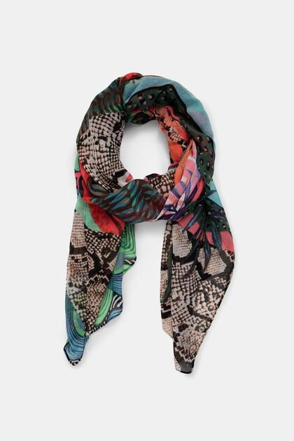 Fulard rectangular exòtic