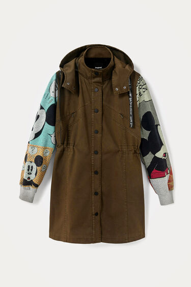 Mickey Mouse hooded parka | Desigual