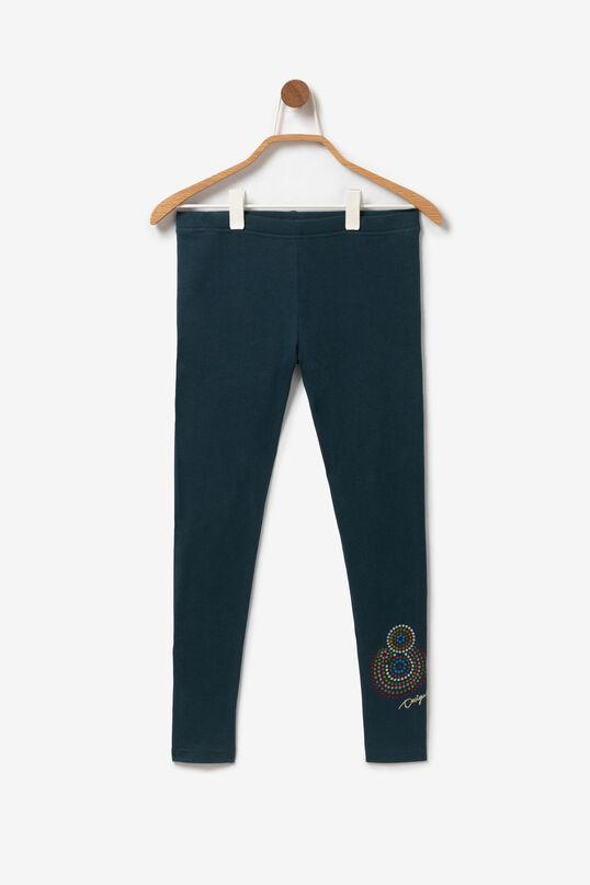 Legging met mandala's en pailletten | Desigual