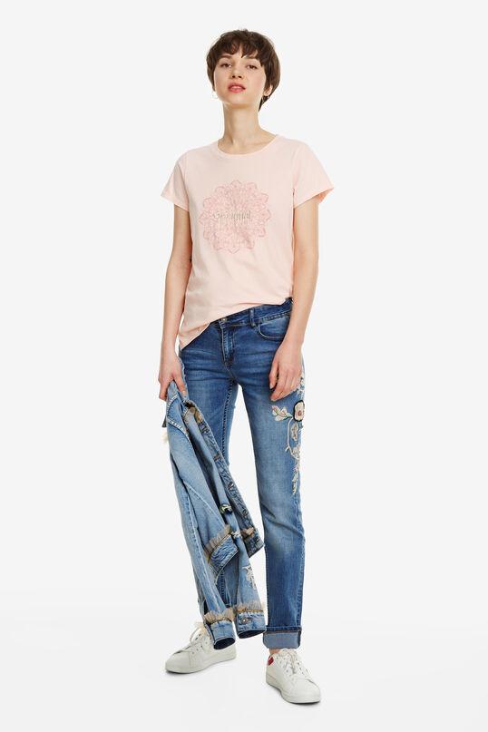 Slim-Fit Jeans Barcelona Flowers | Desigual