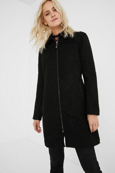 3/4 coat synthetic fleece | Desigual