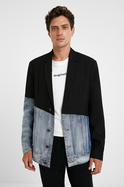 Hybrid blazer and sport jacket