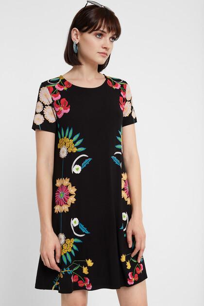 Robe t-shirt florale