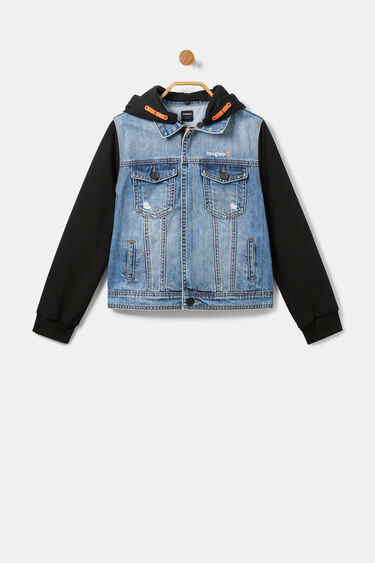Plush denim jacket | Desigual