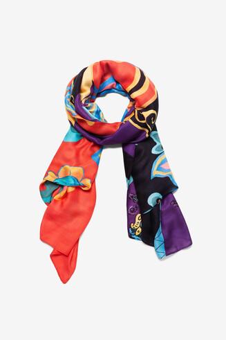 Boho ethnic foulard