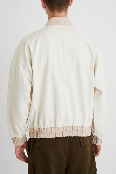 Natural College Jacket | Desigual