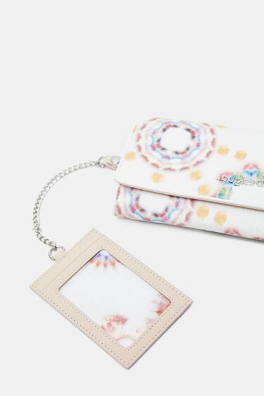 Porte-monnaie allongé mandala tie-dye | Desigual