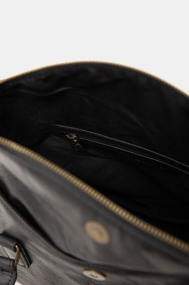 Embroidered briefcase bag   Desigual