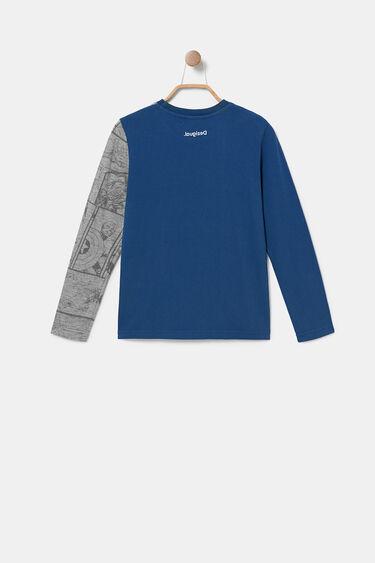 Heroes T-shirt reversible sequins   Desigual