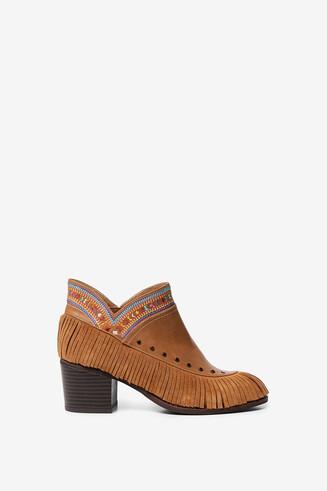 Boho boots fringe