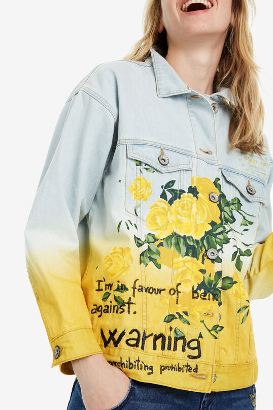 Oversize denim jacket Colours | Desigual