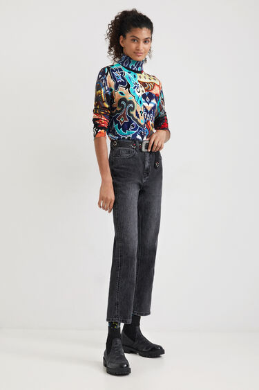 Pull maille boho - DESIGNED BY M. CHRISTIAN LACROIX | Desigual