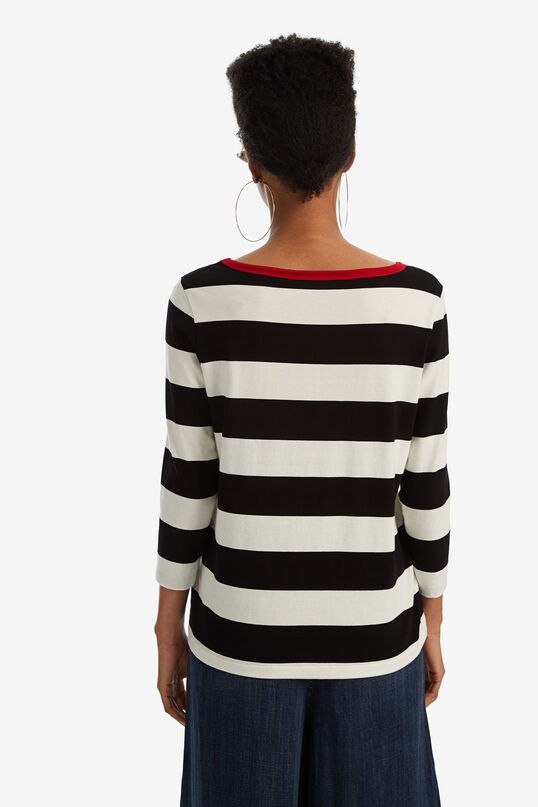 loveライン柄Tシャツ | Desigual