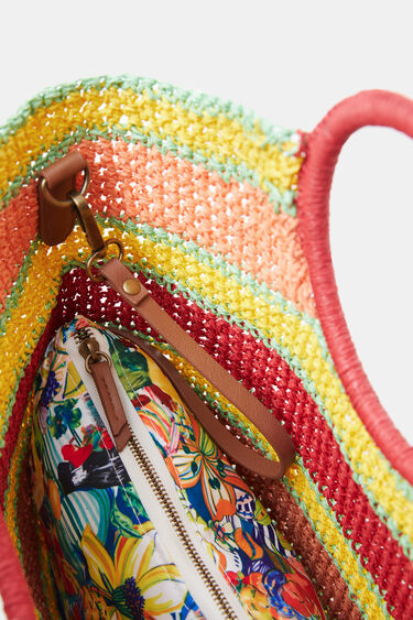 Crossbody beach bag | Desigual