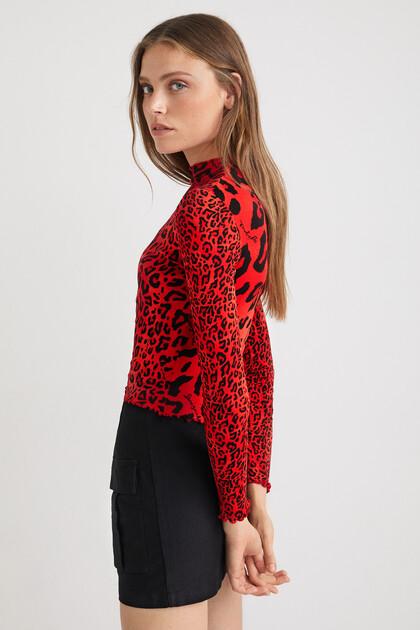 T-Shirt Slim Fit Leopard