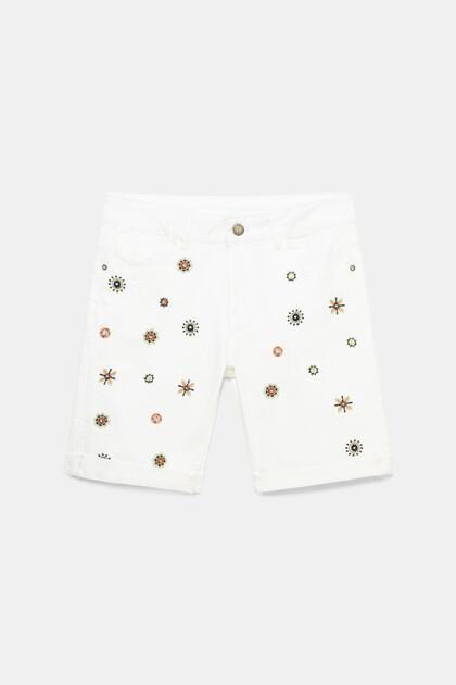 Jean shorts mandalas