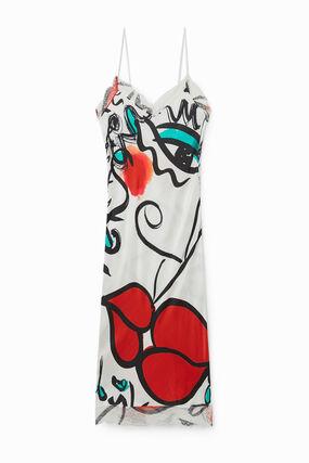 "Lingerie dress ""El beso"" print"