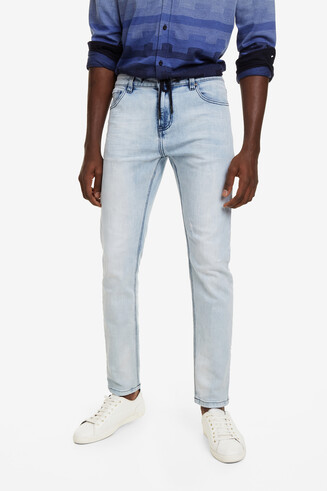 Pantaloni bleached Ares