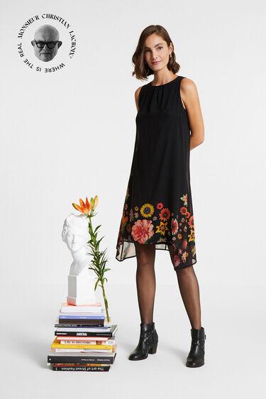 花柄 ノースリーブワンピース | Desigual