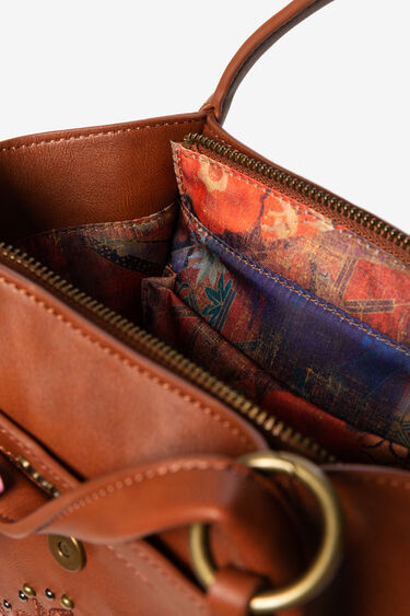 Mini synthetic leather bag | Desigual