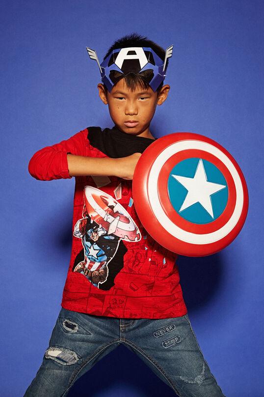 Captain America mirror T-shirt | Desigual