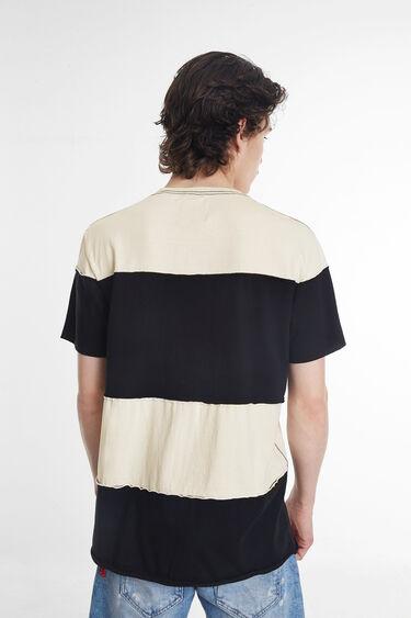 Camiseta patch tigre y mensajes | Desigual