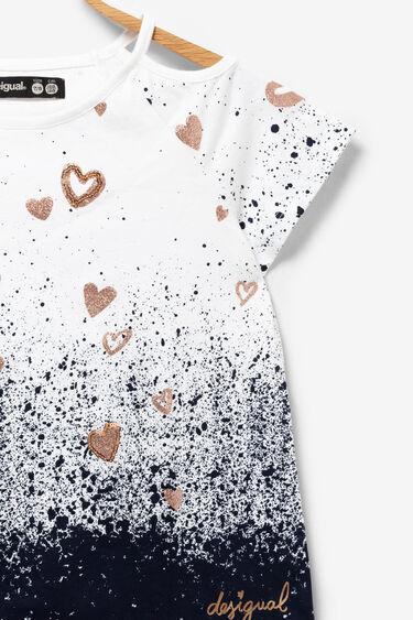 Arty hearts T-shirt | Desigual