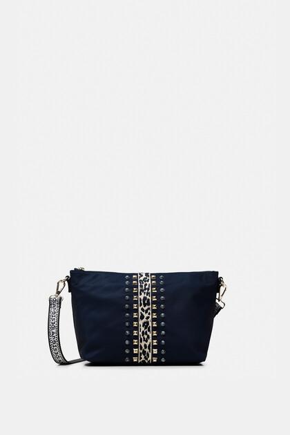 Animal print band sling bag