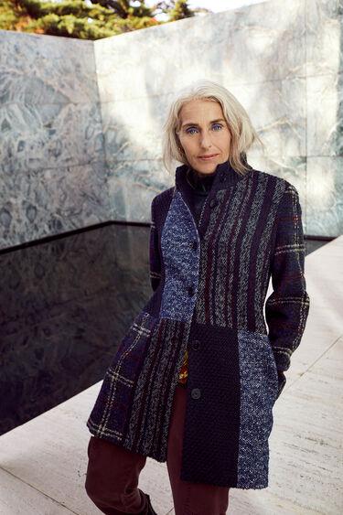 Slim cloth coat | Desigual