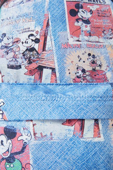 Folding backpack Mickey Mouse comic | Desigual
