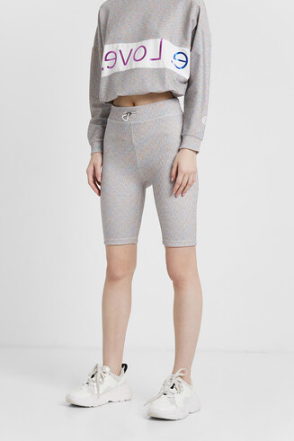Cyclist leggings with high waist