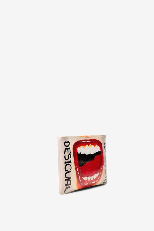 Mouth messenger bag Speak Up Macau | Desigual