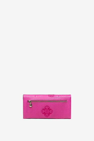 Portemonnaie mit geprägten Mandalas | Desigual