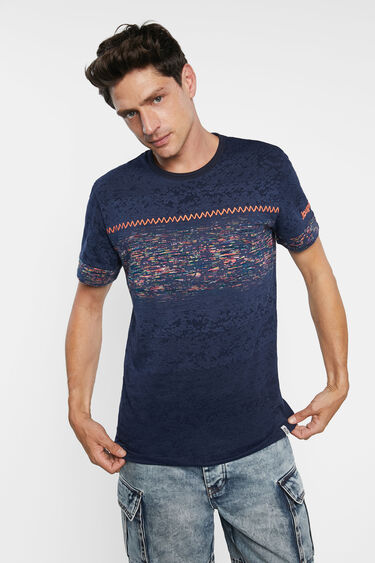 Basic T-shirt frieze jacquard | Desigual