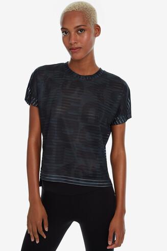 Striped logomania T-shirt