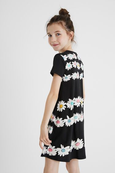Tulle T-shirt dress reversible sequins. | Desigual