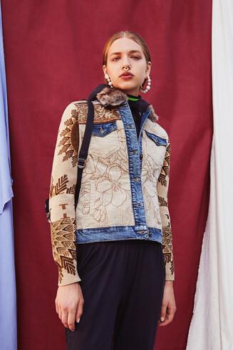 Jean corduroy jacket