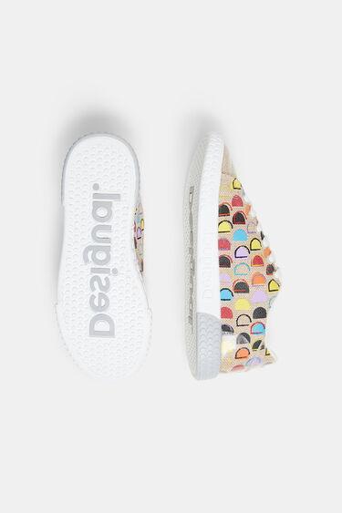 Reverse D canvas sneakers | Desigual