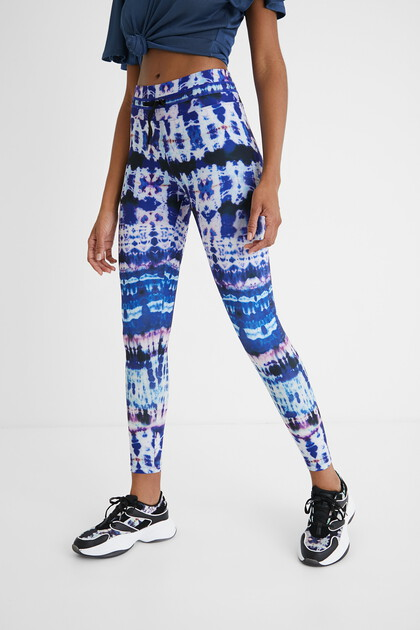 Leggings mit Batik