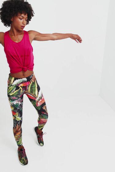 Legging slim sport jungla | Desigual