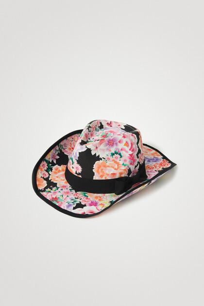 Chapeau de cowboy 100 % coton