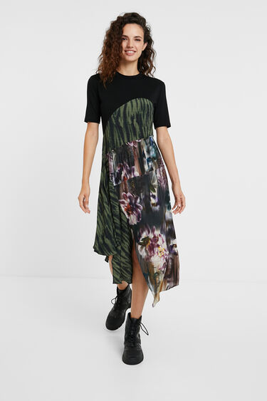 Robe t-shirt patchs | Desigual