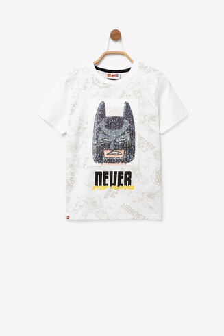Reversible sequins T-shirt Movie