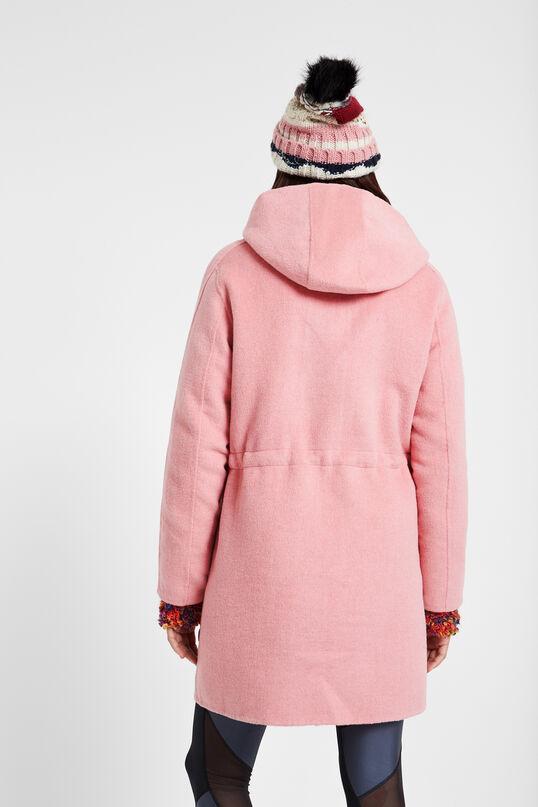 Abric de llana amb caputxa | Desigual