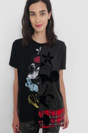 T-shirt tartan Minnie Mouse | Desigual