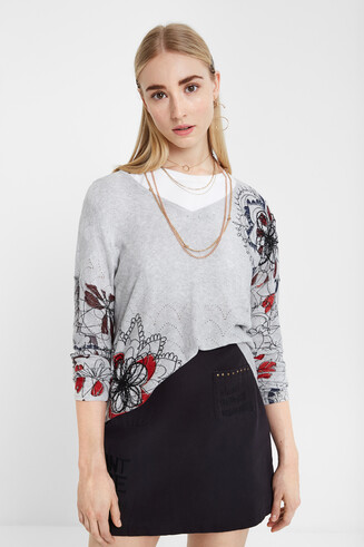 Mandala loose jumper