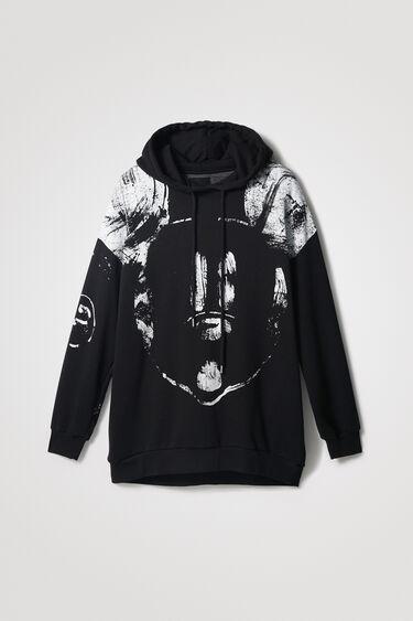 Oversize-Sweater Kapuze Baumwolle   Desigual