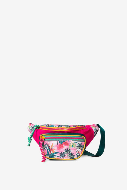 Hawaiian floral bum bag