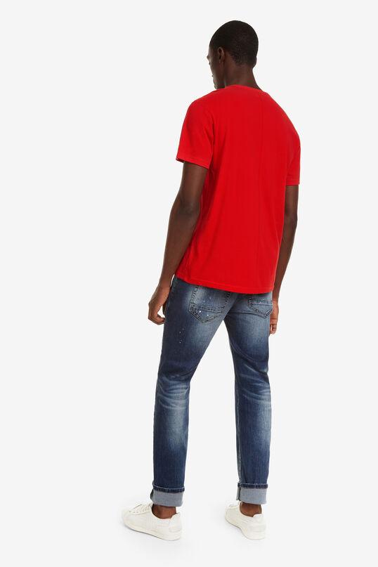 Short-sleeved Rocker T-shirt Sufan | Desigual